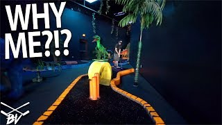 WHY IS THIS MINI GOLF COURSE OUT TO GET ME?!? | Brooks Holt