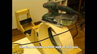 Murray Drums - Making 14x4 Stave Snare Drum - Part 1