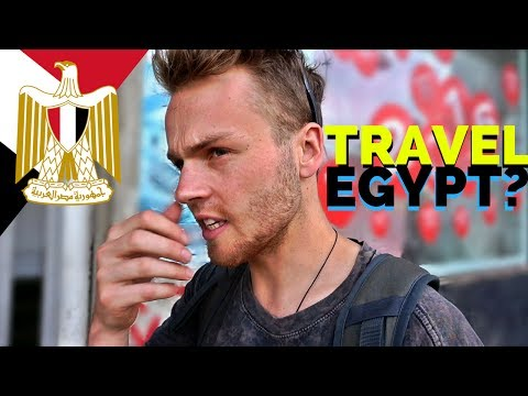 TRAVELLING in EGYPT is CRAZY مصر