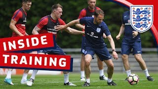 Southgate joins in & England