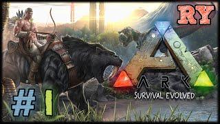 Ark Survival Evolved #1 - Roupas e Satanás