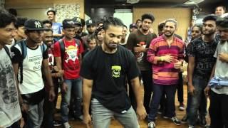 Krump judge showcase by HECTIK @Mumbai HipHop Locals