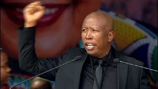 EFF Leader CIC Malema pays tribute to Mama Winnie