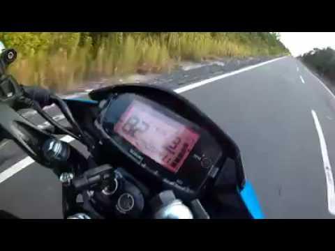 Top Speed Satria FuFi Injeksi 146km