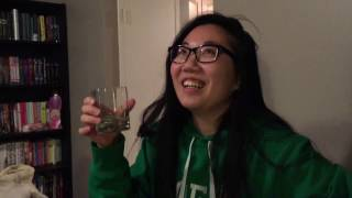 Casey's first shot of Tequila