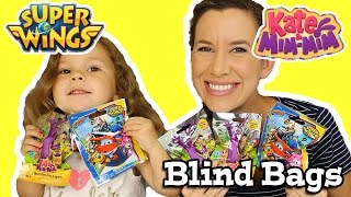 Kate & Mim Mim And Super Wings Blind Bags