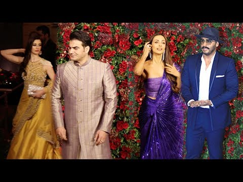 Xxx Mp4 Arbaaz Khan Her New Gf With Ex Wife Malaika Arora Amp Bf Arjun Kapoor Enter RanveerDeepika Reception 3gp Sex