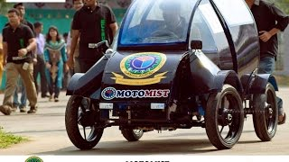 MOTOMIST- A Dreamcar from Military Institute of Science and Technology, Bangladesh