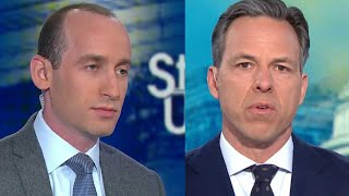 Blowup Between Stephen Miller and CNN's Jake Tapper Reportedly Continued Off-Air