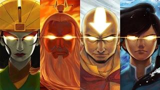 Top 50 Strongest Avatar The Last Airbender & Legend of Korra Characters 安昂 柯拉 [Series Finale]