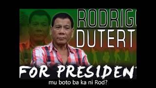 Duterte Jingle - ROD (Roar Bisaya Version) - Latigo Rapper