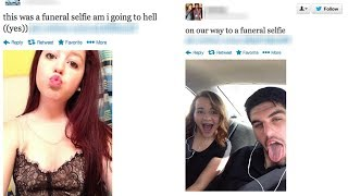 Young People are Now Taking Fun Selfies at Funerals
