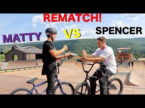 "Matty Cranmer Vs. Spencer Foresman ""REMATCH"" Game Of BIKE!!"