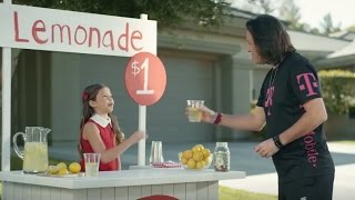 T-Mobile One Commercial 2017 Lemonade Stand