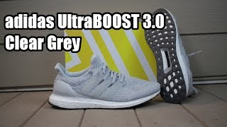 The adidas UltraBOOST 3.0 Goes Gray