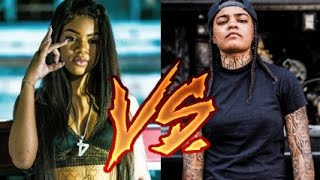 Young M.A Vs. Molly Brazy