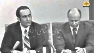گفتگوی پرویز ثابتی از تلویزیون ملی ایران(مسعود بهنود پرسش کننده می باشد)