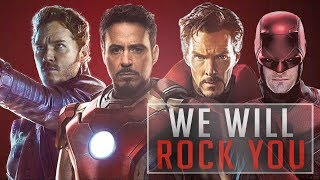 Marvel Cinematic Universe - We Will Rock You (Tribute)