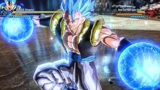 GOGETA BLUE VS SUPER BROLY All Abilities! DLC PACK 8 | Super Dragon Ball Xenoverse 2 EXTRA PACK 4