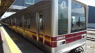 東武20050系21852F東武スカイツリーライン回送 東武動物公園駅発車