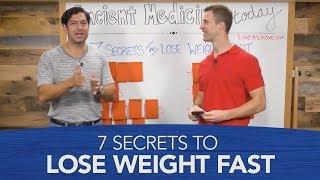 7 Secrets To Lose Weight Fast   Dr. Josh Axe & Jordan Rubin