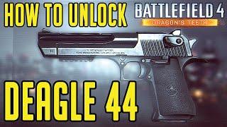 Battlefield 4 - How To Unlock Deagle 44 - Recoil Kinetics Assignment Dragon's Teeth DLC