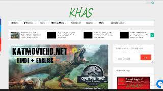 How to Download Jurassic World 2 Fallen Kingdom 2018 Dual Audio HDCAM-Rip