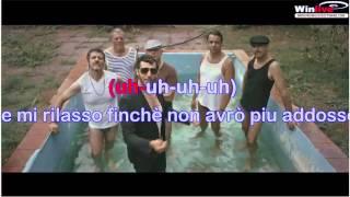 Gazzè - La vita com'è + testo (lyrics) karaoke