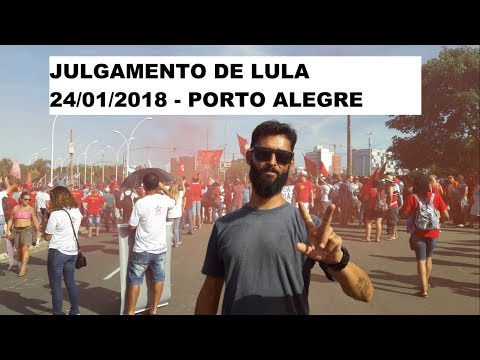 Julgamento de Lula no TRF/4 em Porto Alegre 24/01/2018 (#Matrix 99)