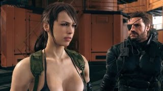 Metal Gear Solid V - English and Japanese Voice Comparison