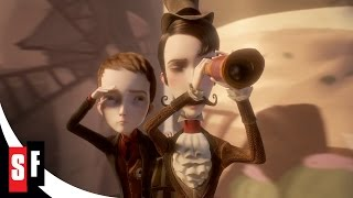 Jack And The Cuckoo-Clock Heart - Music By Dionysos (2/5) Jack and Méliès Travel to Ghost Train HD