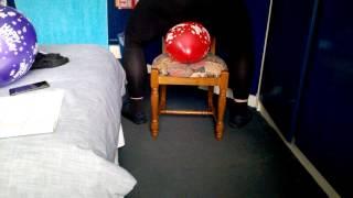 Balloon sitting