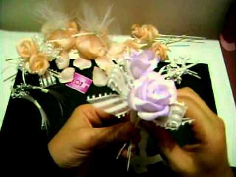Tutorial como hacer una adorno de torta para bodas how to for Como hacer una mesa de centro