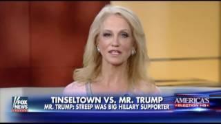 Kellyanne Conway: Meryl Streep is