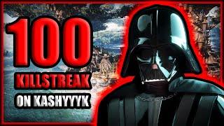 Star Wars Battlefront 2 Darth Vader 100 Killstreak (Kashyyyk)