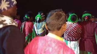 Amazing santhali chain dance video.#####