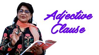 Clause Adjective | English Grammar Lessons for Beginners | English Speaking Course