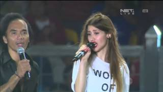 Slank Feat  Millane Fernandez - I Miss You But I Hate You - Closing Ceremony 100 Tahun Jenderal Sudi