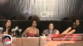 Murat Yıldırım s Press Confernece    مراد يلدريم فى ندوه السينما و العلاقات الدوليه فى مهرجان القاهره l