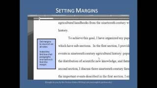 Purdue OWL: MLA Formatting - The Basics