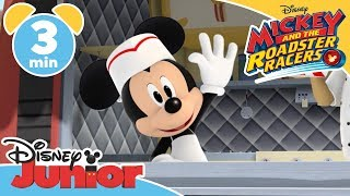 Mickey and the Roadster Racers | The Food Truck Race 🌭 - Magical Moment | Disney Junior UK