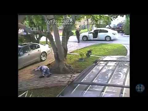 Xxx Mp4 GRAPHIC CONTENT Surveillance Video Of Shooting Of Miami Dade Police Officer Growhouse Suspect 3gp Sex