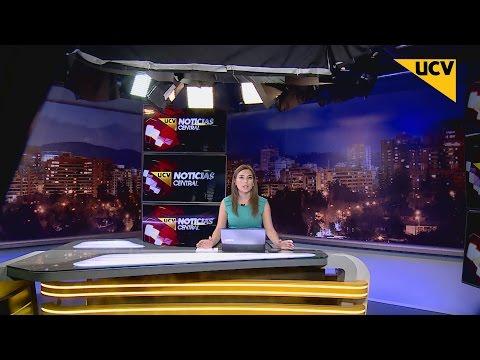 UCV TV NOTICIAS CENTRAL (16-09-2015) - Así se vivió el terremoto en el noticiario central de UCV TV