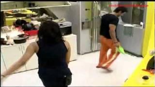 Veena Malik's Hot Kiss Me Kiss Me Hug Me Hug me Dance with Ashmit (Uncut) Bigg Boss 4 2010