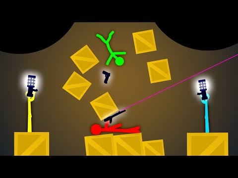 Xxx Mp4 IMPOSSIBLE DOUBLE BLACK HOLE Stick Fight Multiplayer Gameplay 3gp Sex