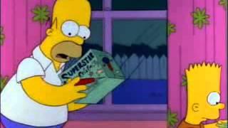 Los Simpsons homero convoy - latino