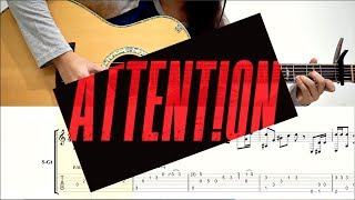 (Charlie Puth) Attention - Fingerstyle TABS   Josephine Alexandra
