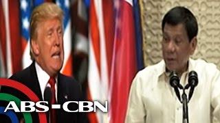 TV Patrol: Duterte at Trump nakapag-usap na