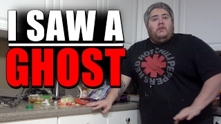 I SAW A GHOST!!