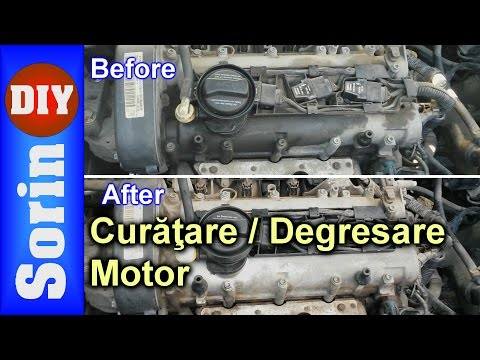 Curatare Degresare Motor How To Clean Degrease Your Engine